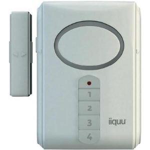 iiquu Door/Window Alarm - Alarme sans fil pour porte et fenêtre (912620-HSIQME1)