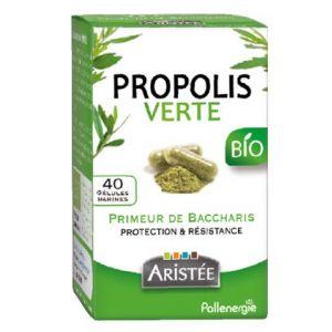 Aristée Pollenergie Gélules propolis verte de baccharis bio x40