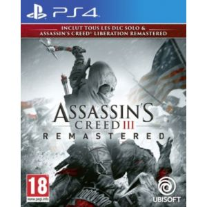 Assassin's Creed 3 + Liberation Remaster [PS4]