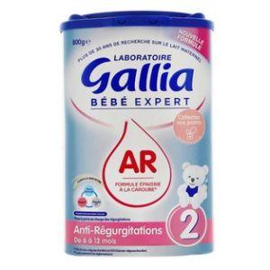 Gallia Bébé expert lait ar2 800g