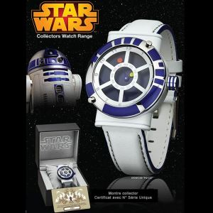 STAR139 - Montre mixte Star Wars collector R2d2
