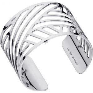 Les Georgettes Bracelet Ruban Argent Large