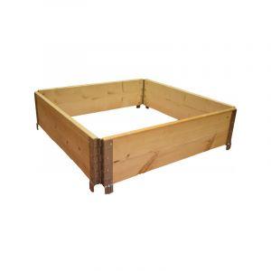 Multitanks Réhausse de palette en bois naturel 800x800mm