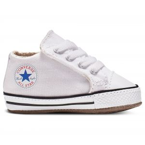 Converse Chaussures casual Chuck Taylor All Star tige moyenne à scratch en toile Cribster Canvas Color Blanc - Taille 18