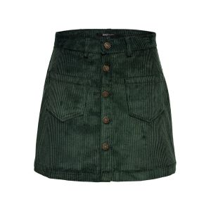 Only NOS Onlamazing Hw Corduroy Skirt PNT Noos Jupe, Vert Green Gables, 44 (Taille Fabricant: X-Large) Femme