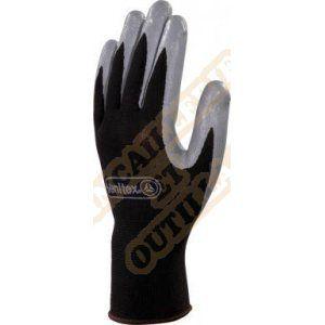Delta Plus Gant tricot gris polyamide enduit PU taille 10 : VE702GR10