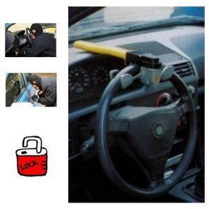 Lifetime Canne antivol - Bloque volant - 2 clés - Acier Renforcé