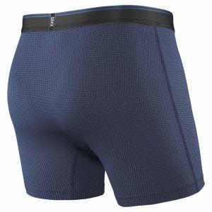 Saxx Underwear Vêtements intérieurs Quest 2.0 Boxer Fly - Midnight Blue - Taille S