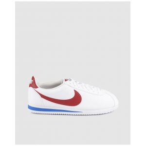 Nike Chaussures casual Classic Cortez Leather Blanc / Rouge - Taille 44