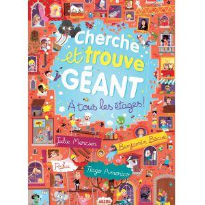 Auzou editions Cherche et trouve géant : A tous les étages !