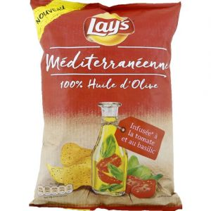 Lay's Chips mditerannenne infuse @ la tomate et au basilic