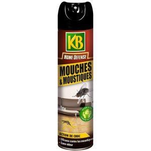 KB Home défense mouches & moustiques aérosol 400 ml