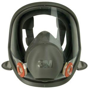 Masque respiratoire complet silicon 6800s taille m : 3m 6800S