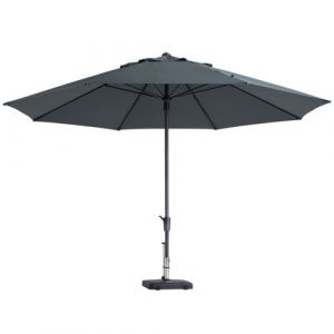Madison Parasol Timor Luxe 400 cm Gris PAC8P014