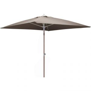 Proloisirs Parasol inclinable carré aluminium 2 m