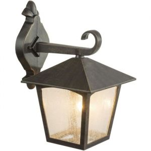 Globo Lighting Applique extérieure aluminium fonte couleur rouille - Verre translucide - IP44