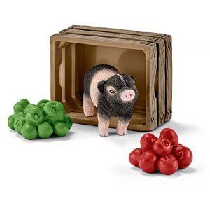 Schleich 42292 - Mini-cochon avec pommes