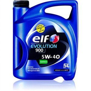 Elf Huile moteur Evolution 900 5W40 essence 5 L