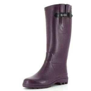 Aigle Ntine - Botte de pluie - Femme - Violet (Aubergine) 36 EU