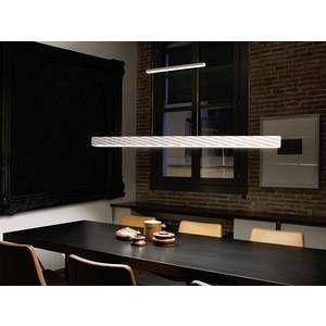 Led C4 Grok by Stream Suspension LED, blanc mat