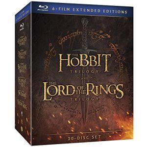 Coffret Le Hobbit et Le Seigneur des Anneaux - les trilogies