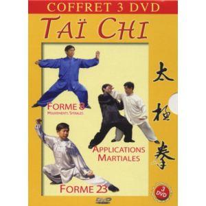 Coffret Tai-chi - Forme 8, Mouvements spiralés + Applications martiales + Forme 23