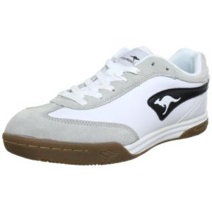 KangaROOS 7270A, Chaussures de sport homme - Blanc (Wht/Blk 5), 45 EU