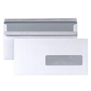 5* office 500 enveloppes 11 x 22 cm avec fenêtre 3,5 cm