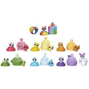 Hasbro 13 mini figurines Littlest Petshop Rainbow