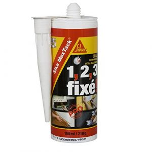 Sika Colle de fixation Maxtack - Blanc - 150ml