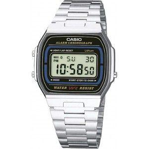 Image de Casio A164WA-1VES - Montre mixte Chronographe
