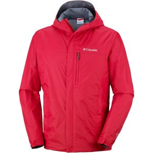 Columbia Vestes Pouring Adventure Ii - Mountain Red - Taille L