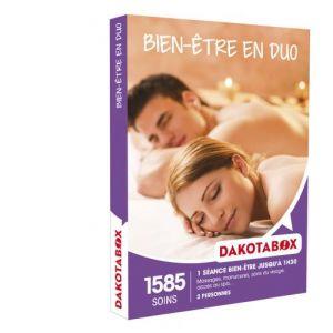 Dakota Box Bien-être en duo - Coffret cadeau 1585 soins