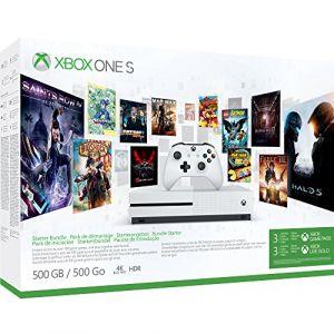 Microsoft Xbox One S 500 Go + 3 mois Game Pass + 3 mois Live