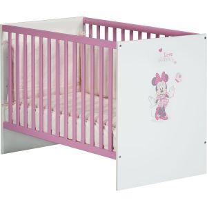 Baby Price Lit bébé Minnie 120 x 60 cm 3 positions