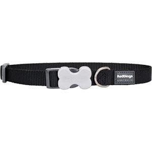 RedDingo Collier pour chien Noir 40-60 cm 25 mm