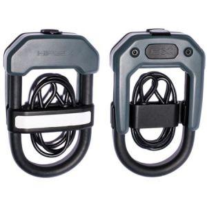 Hiplok DXC - Antivol câble - gris/noir Câbles antivol