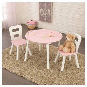 KidKraft Ensemble table de rangement ronde + chaise