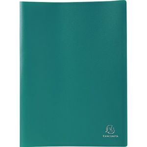 Exacompta 8563E - Protège-documents Eco A4 120 vues, polypro souple vert