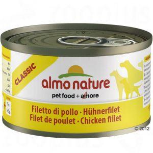 Almo Nature Nourriture humide pour chien Nature Small filet de poulet 95 gr