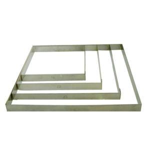 De Buyer 3905.24 - Cercle carré en inox (24 cm)