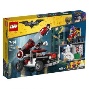 Lego 70921 - Batman Movie : l'attaque boulet de canon d'Harley Quinn