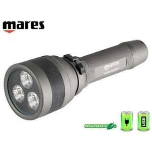 Mares W, lampe torche subacquea-torch EOS 20rz W/Lock unisexe %u2013 Adulte, uni