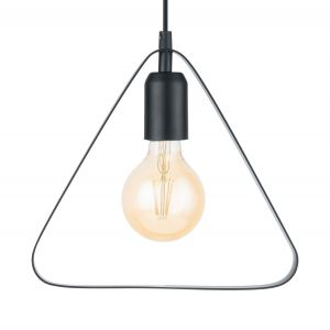 Eglo Lampe suspendue BEDINGTON 25 cm Noir 49774