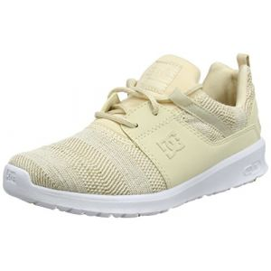 DC Shoes Heathrow TX Se, Baskets Femme, Beige (Taupe Tau), 36 EU