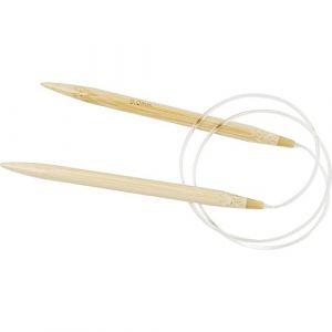 Creotime CC Hobby - Aiguilles à tricoter circulaires, 9, L: 80 cm, 1pièce