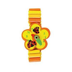 Vilac 0326 - Bracelet montre fleur coccinelle