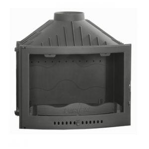 Ferlux 710 - Insert foyer de cheminée arrondi en fonte 13,7 kw