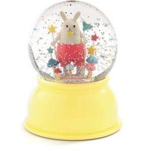 Veilleuse neigeuse Petit lapin