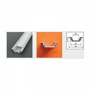 Vision-El Profilé aluminium anodisé LED RAINURE 1000 mm pour bandeau LED -